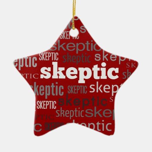 Red Skeptic Xmas/Solstice Tree Ornaments