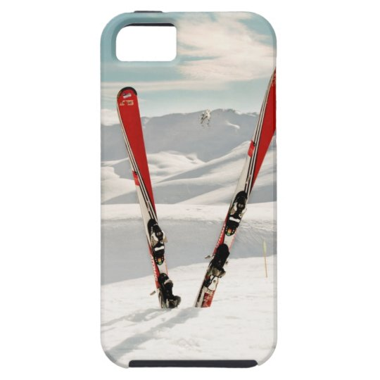 Red Skis iPhone SE/5/5s Case