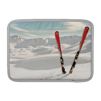 Red Skis Sleeve For MacBook Air