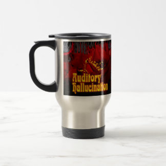 Red Skull, Aud flower best 3, Auditory    Hallu... Travel Mug