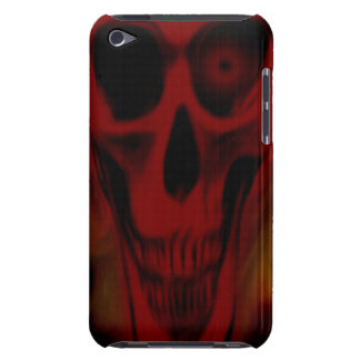 Red Skull Barely There iPod Case