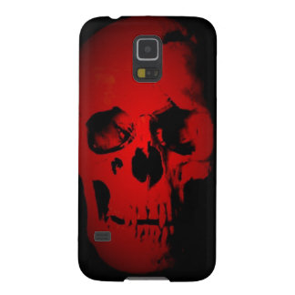 Red Skull Case For Galaxy S5