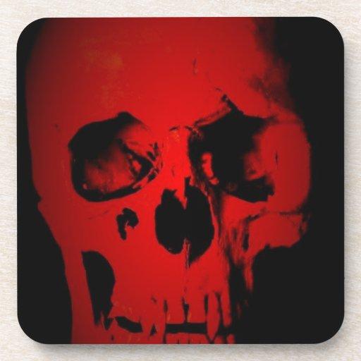 Red Skull Coaster