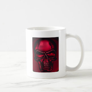 RED SKULL COFFEE MUG