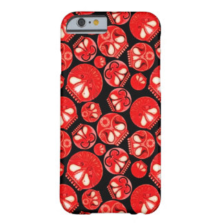 Red Skull Diary Barely There iPhone 6 Case
