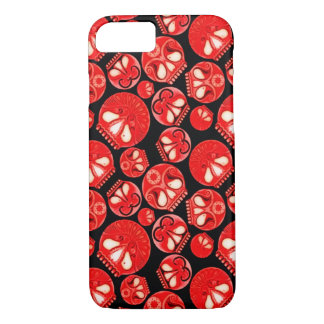 Red Skull Diary iPhone 7 Case