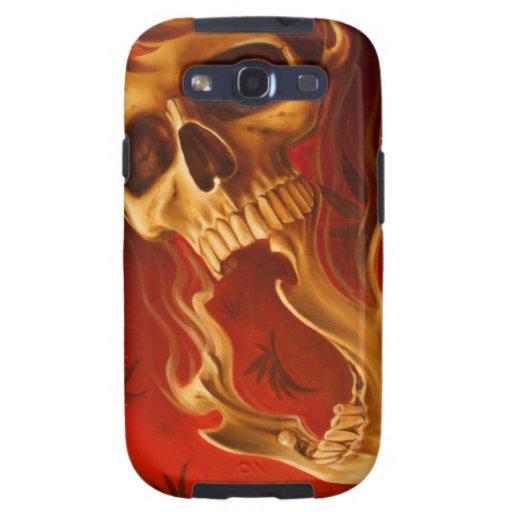 red skull galaxy s3 cases