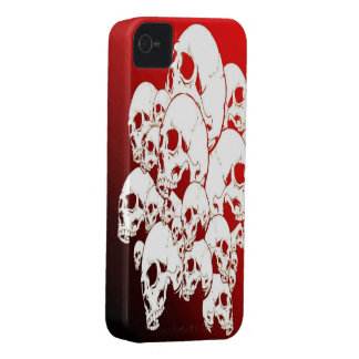 Red Skull iPhone 4/4s Mate ID Case