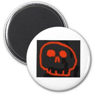 Red Skull Refrigerator Magnets