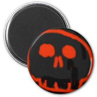 Red Skull Refrigerator Magnet