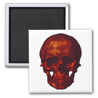 Red Skull Magnet