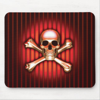 Red Skull Mouse Pad
