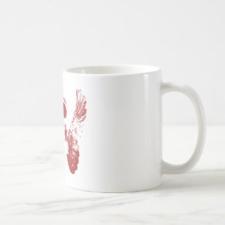 Red Skull Classic White Coffee Mug