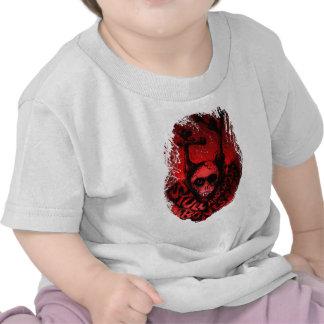 Red Skull 'n Bones T-shirts