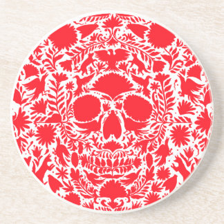 RED SKULL PRODUCTS BEVERAGE COASTERS