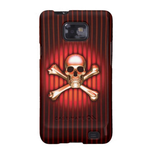 Red Skull Samsung Galaxy Case Galaxy S2 Covers