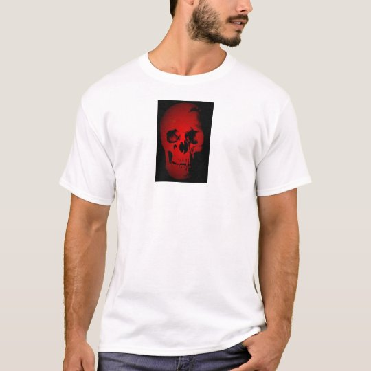 Red Skull Skeleton T-Shirt