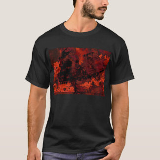 red skull snow T-Shirt