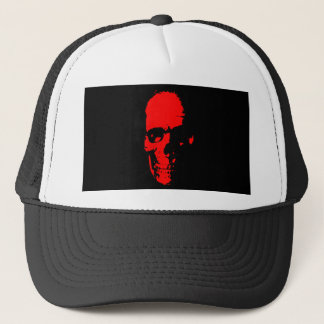 Red Skull Trucker Hat