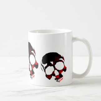 Red Skulls Coffee Mug