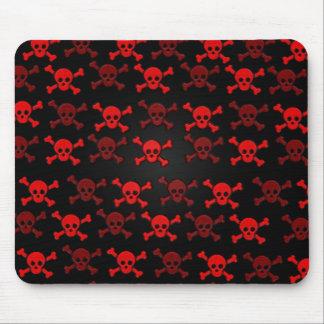 Red Skulls Mousepad