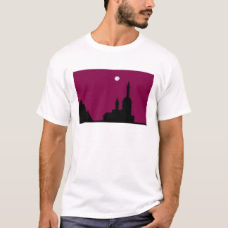 Red sky at Night Line T-Shirt