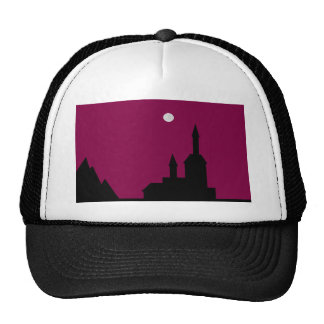 Red sky at Night Line Trucker Hat