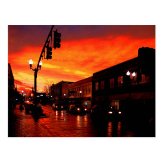 Red Sky at Night Postcard