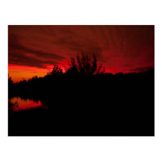 """""""Red Sky at Night"""" postcards"""