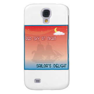 Red Sky At Night Samsung Galaxy S4 Cover