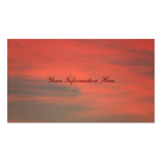 Red Sky Business Cards