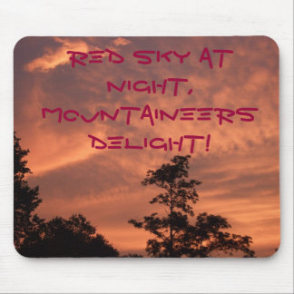 Red Sky Mousepad