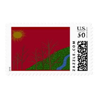 Red Sky Postage