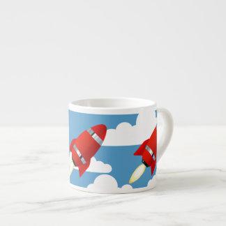 Red Sky Rocket Espresso Cup