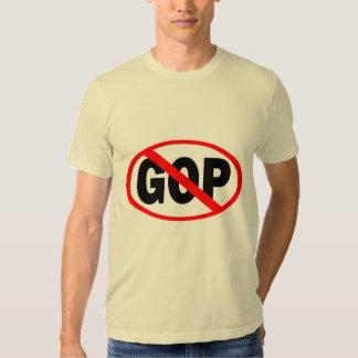 Red Slash Through GOP T-Shirt