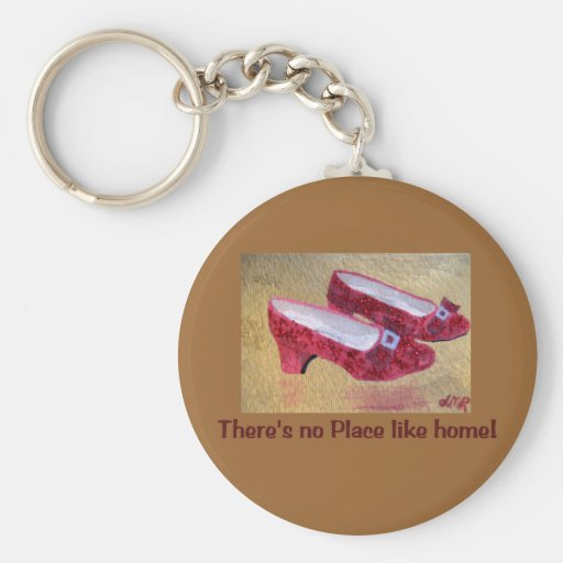 Red Slippers Key Chain