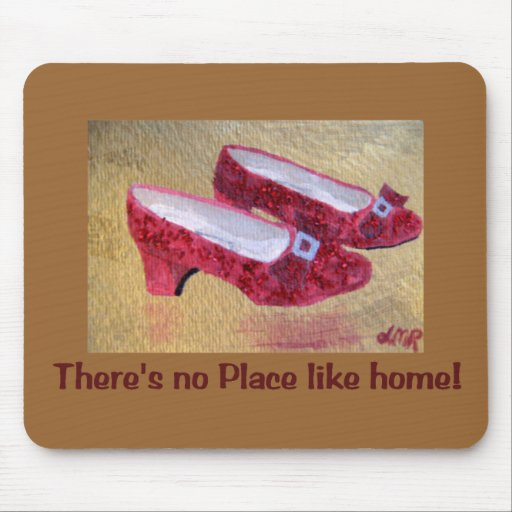 Red Slippers  Mousepad