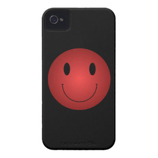 Red Smiley Case-Mate iPhone 4 Cases