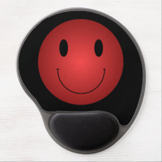 Red Smiley Gel Mousepad