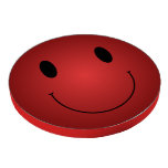 Red Smiley Poker Chips