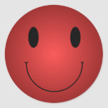 Red Smiley Stickers