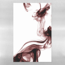 Red Smoke Magnetic Dry Erase Sheet