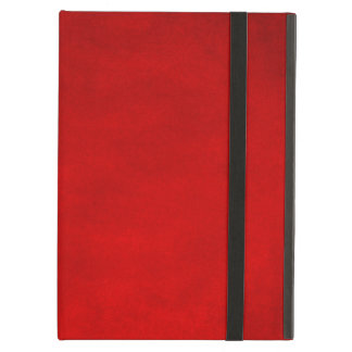 Red Smudge iPad Air Cover
