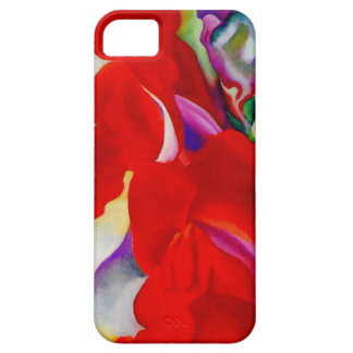 Red Snap Dragon iPhone 5 Covers