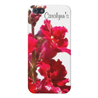 Red Snap Dragon iPhone 5/5S Case