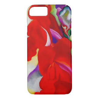 Red Snap Dragon iPhone 8/7 Case