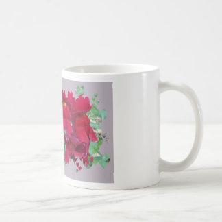 Red Snap Dragons Coffee Mug