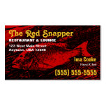 Red Snapper Business Card