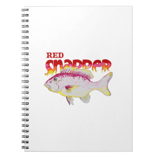 RED SNAPPER FISH NOTEBOOKS
