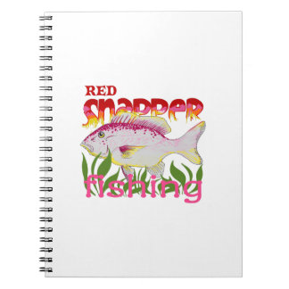 RED SNAPPER FISHING NOTEBOOKS